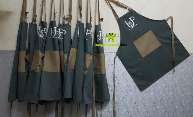 Mặt hàng tạp dề giá rẻ tại Song Phú